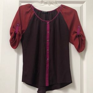 Express Multi color blouse